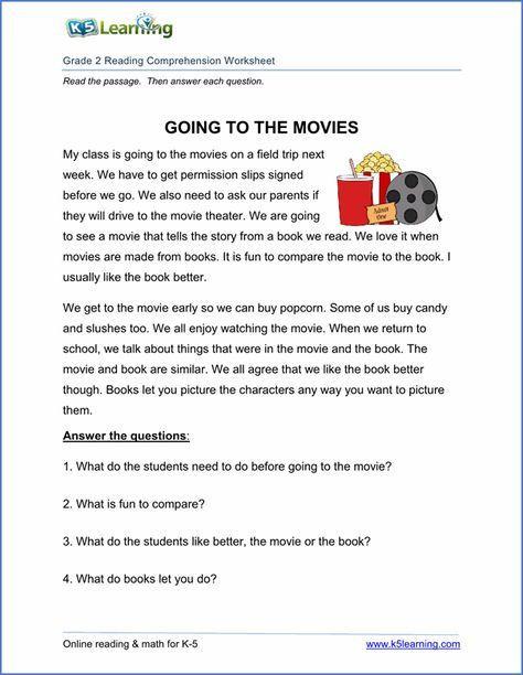 5th Grade Worksheets Printable Reading Printable Reading Prehension Worksheets Inc Exercises