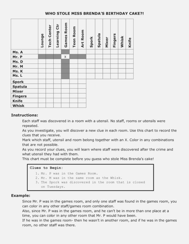 6th Grade istep Practice Worksheets Best Dynamite Logic Problems Printable