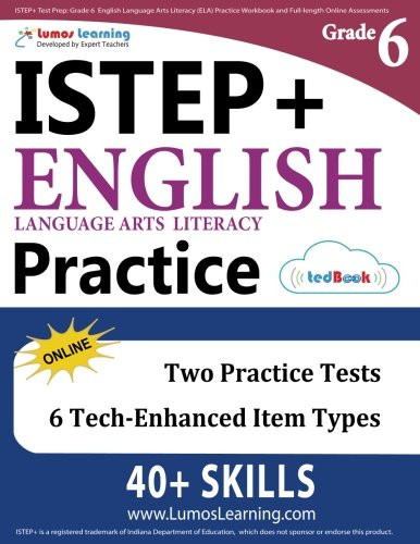 6th Grade istep Practice Worksheets istep Test Prep Grade 6 English Language Arts Literacy