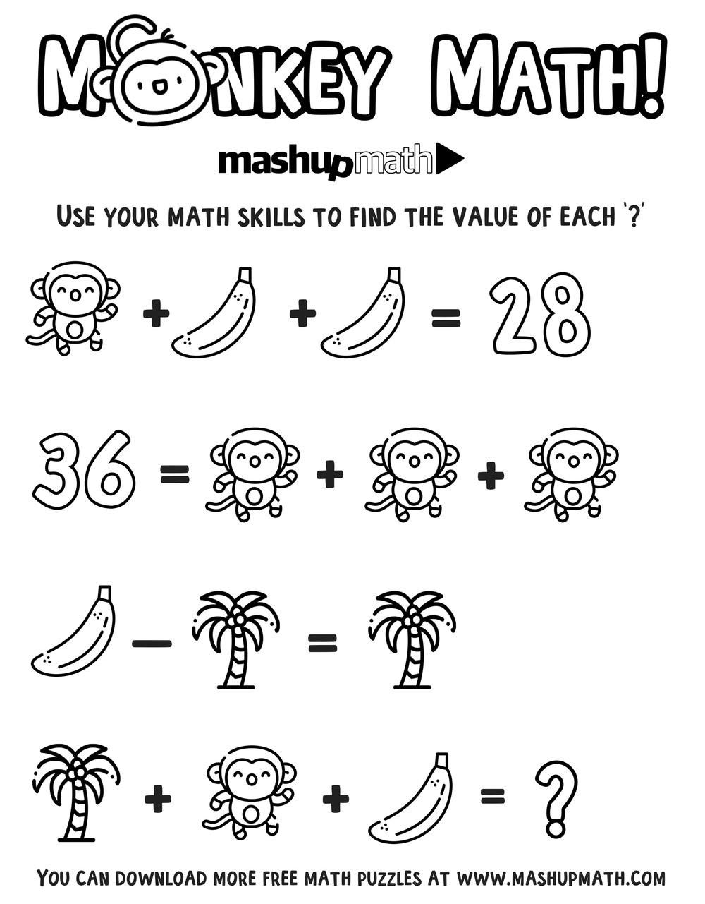 6th Grade Math Puzzles Free Math Coloring Worksheets for 5th and 6th Grade — Mashup