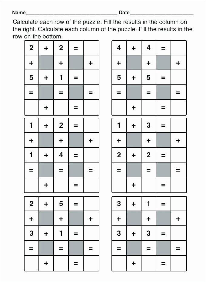 6th Grade Math Puzzles Pin On Grade Math Worksheets & Sample Printables