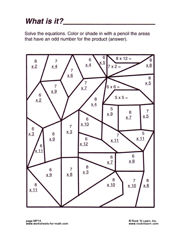 6th Grade Math Puzzles Worksheets Fun Math Worksheets & Worksheet Math Sheets Math Worksheets