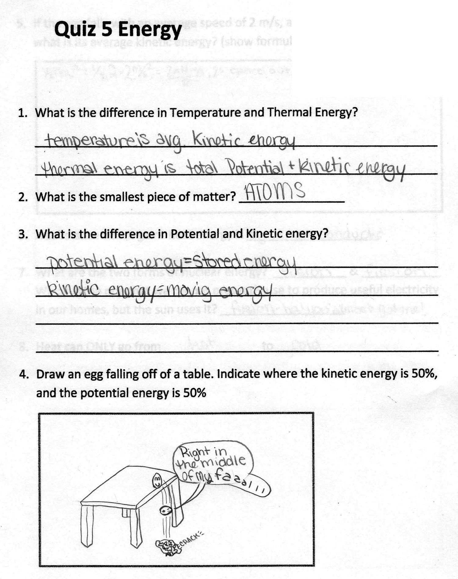 6th Grade Science Energy Worksheets Energy Worksheets for Grade 6