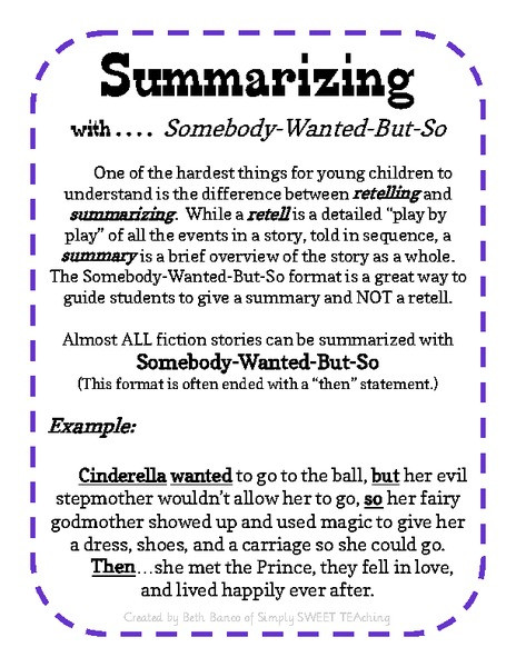 6th Grade Summarizing Worksheets 28 [ Summarizing Worksheet ]