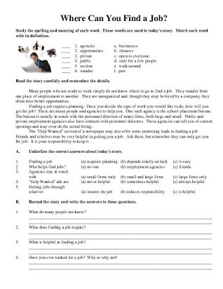 9th Grade Nonfiction Reading Passages 9th Grade Reading Prehension Worksheets Free Printables