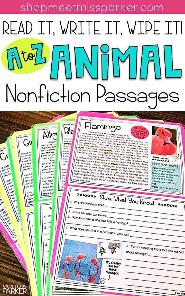 9th Grade Nonfiction Reading Passages Nonfiction Reading Prehension Passages & Questions