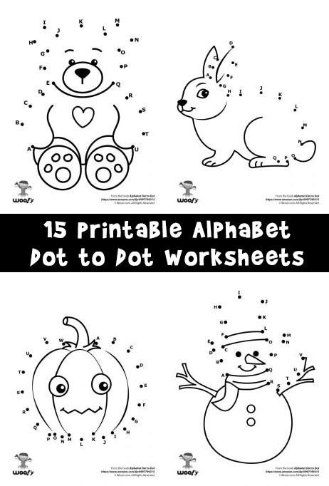 Abc Connect the Dots Printable Printable Alphabet Dot to Dot Worksheets