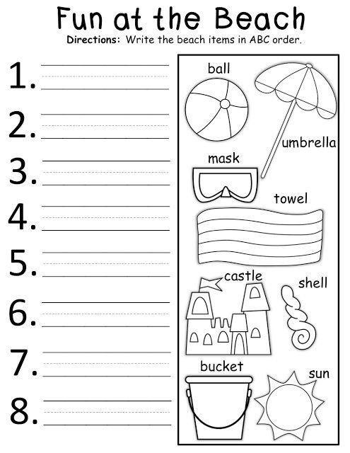 Abc order Worksheets Kindergarten Pin On Printable Worksheet for Kindergarten