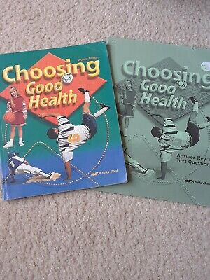 Abeka 6th Grade Science Abeka Choosing Good Health 6th Grade Science Text Book