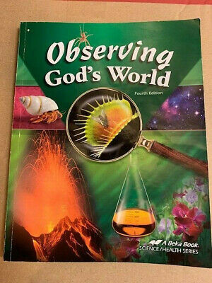 Abeka 6th Grade Science Abeka Observing God S World Teacher Test Key Homeschool 6th
