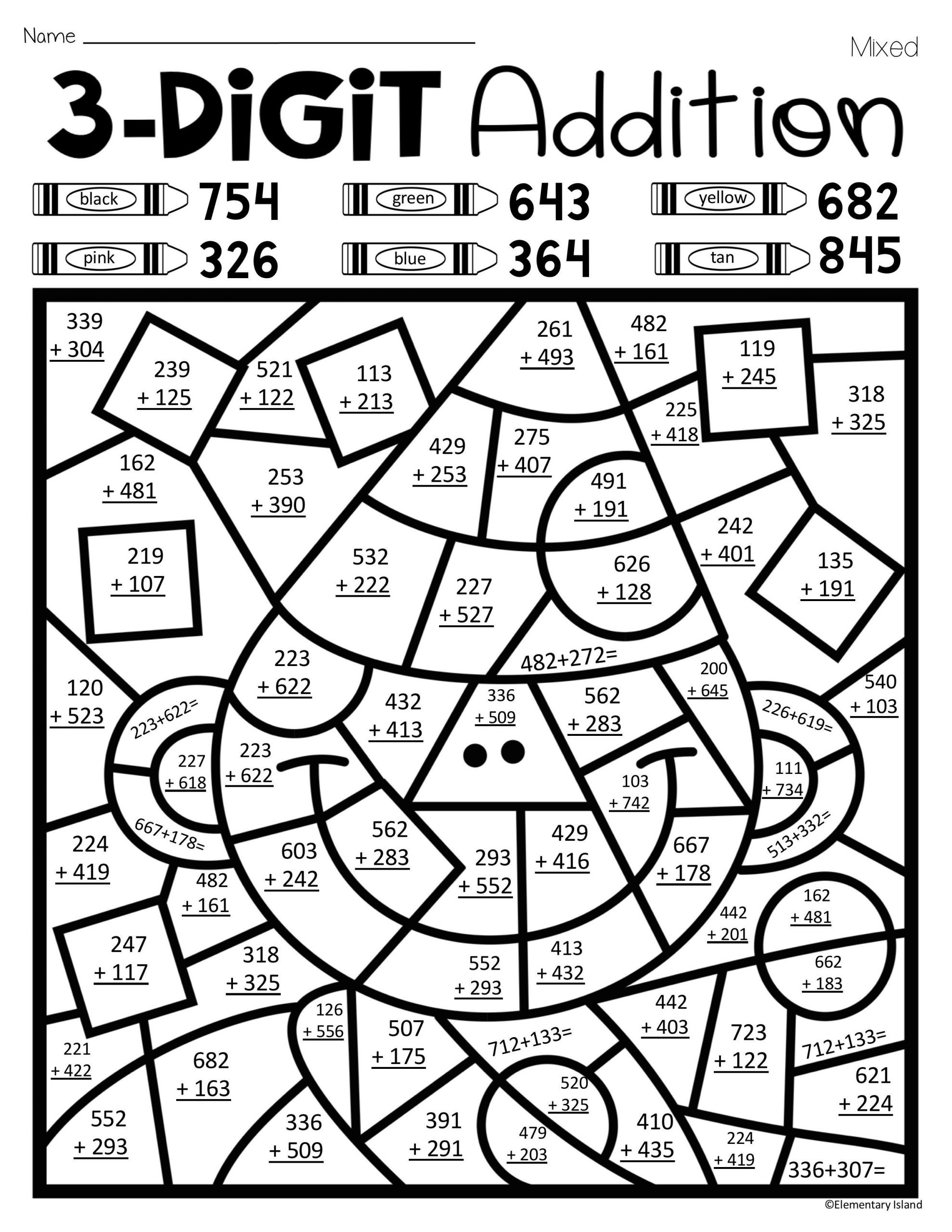 Addition Math Coloring Worksheets Math Coloring Pages Tag Free Math Coloring Worksheets