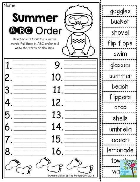 Alphabetical order Worksheets 2nd Grade 38 Alphabetical order Worksheets