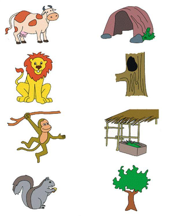 Animal Habitat Worksheets for Kindergarten Animal Habitat Worksheet for Kids 2