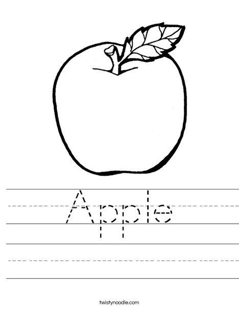 Apple Worksheets Kindergarten Apple Worksheets for Kindergarten & Free Printable