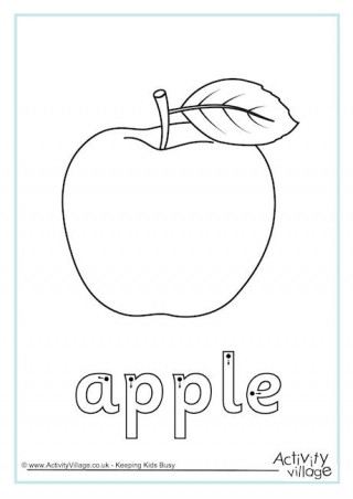 Apple Worksheets Kindergarten Apple Worksheets