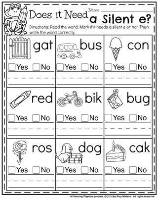 Blending Worksheets 1st Grade Back to School First Grade Worksheets