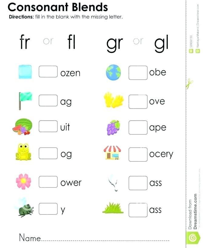 Blends Worksheets Kindergarten Free Blends for Kindergarten L Blends Worksheets for Kindergarten