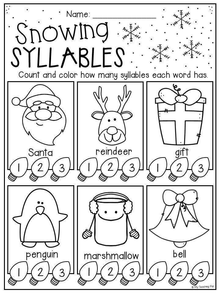 Christmas Counting Worksheets Kindergarten 1989 Generationinitiative Page 8 Bine Multiple