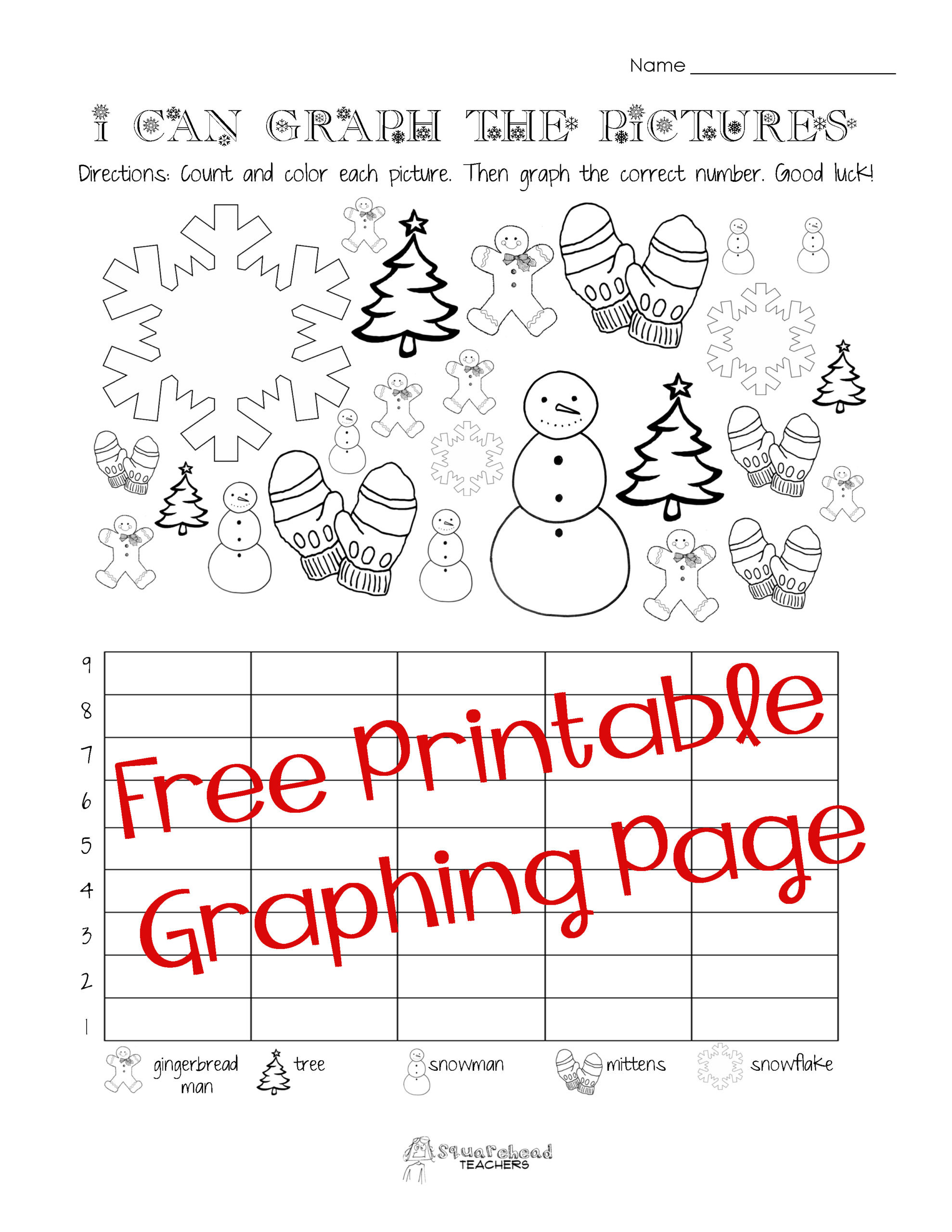 Christmas Counting Worksheets Kindergarten Worksheet Free Printable Grade Math Worksheets Literacy