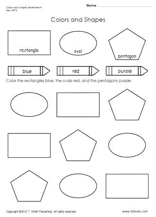 Color Blue Worksheets for Preschool Preschool Worksheet Gallery September 2019