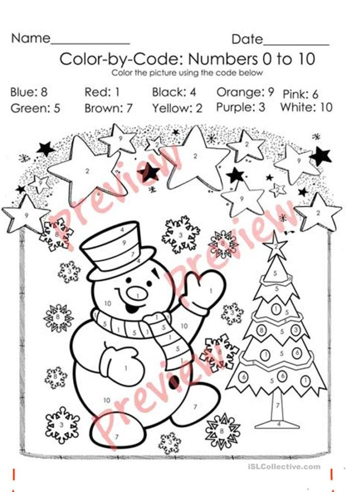 Coloring Addition Worksheet Christmas Color by Code Coloring Numbers Number Worksheets
