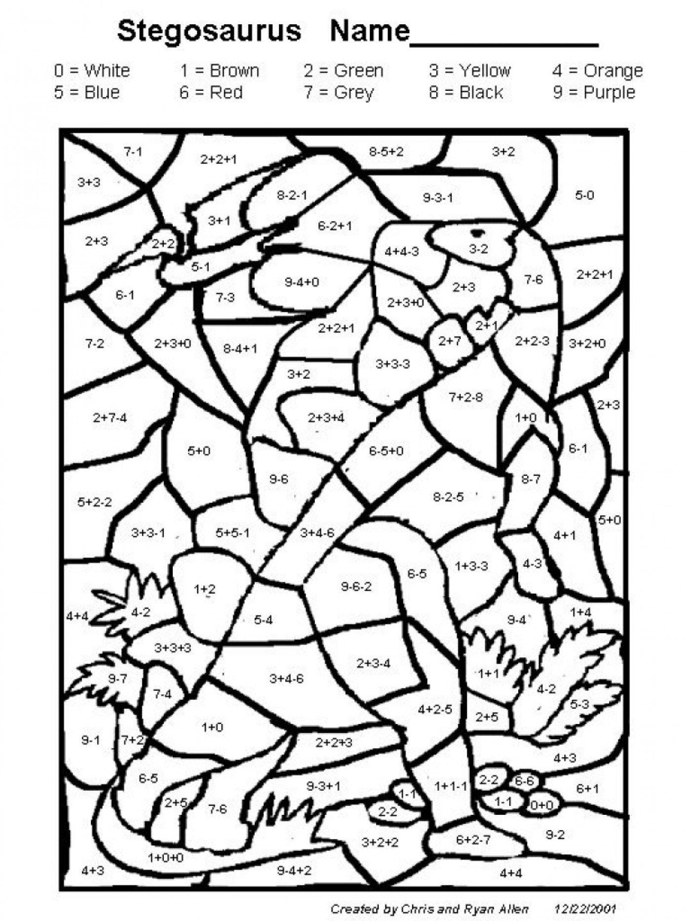 Coloring Worksheets for 3rd Grade Excellent Image Of Addition Coloring Pages