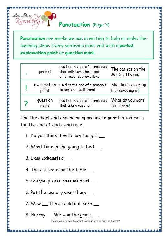 Commas Worksheet 3rd Grade Grade 3 Grammar topic 30 Punctuation Worksheets