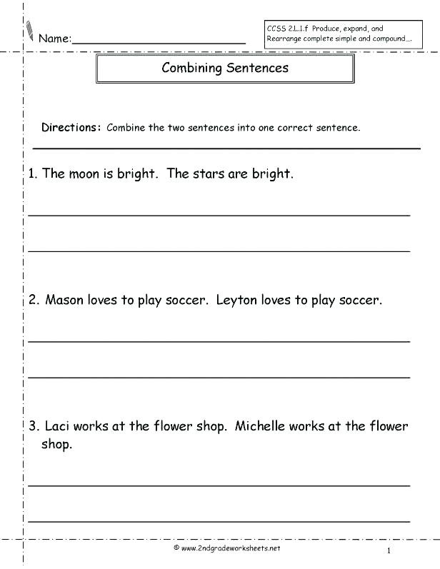 Complete Sentences Worksheets 3rd Grade Free Sentence Structure Worksheets Sentence Worksheet