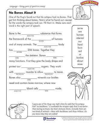 Conjunction Worksheet 5th Grade Parts Of Speech Free Worksheets 5th Grade
