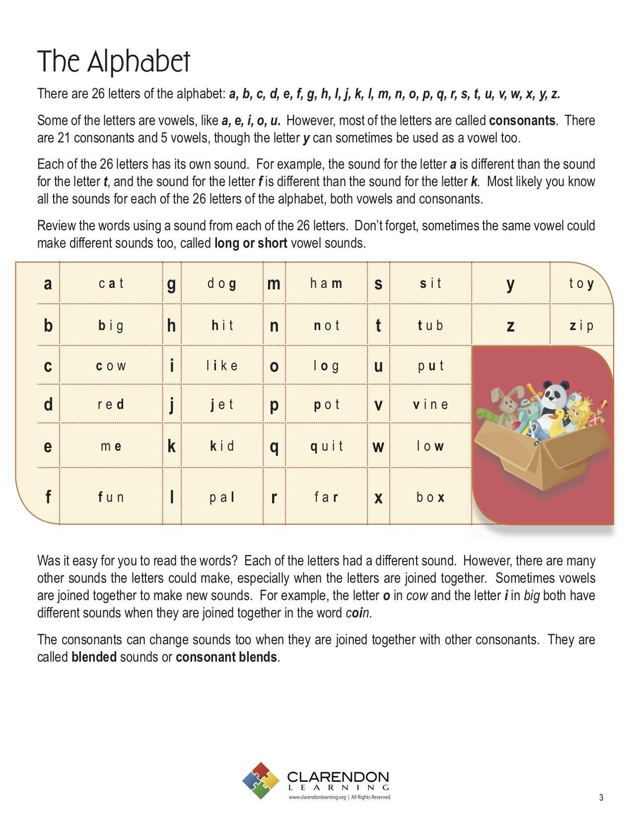 Consonant Blends Worksheets 3rd Grade Consonant Blends 2 Letter Lesson Plan