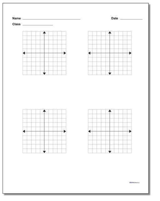 Coordinate Grids Worksheets 5th Grade Blank Coordinate Plane Work Pages