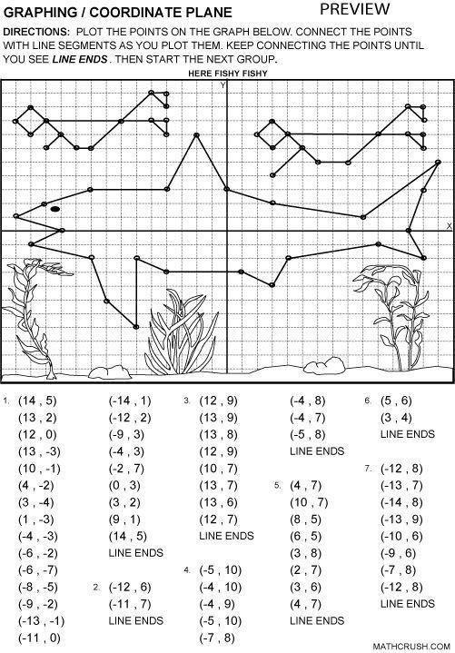 Coordinate Plane Worksheets 5th Grade Printable Fun Coordinate Graph Worksheets