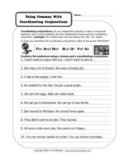 Correlative Conjunctions Worksheet 5th Grade Correlative Conjunctions Worksheet Conjunctions Corrtive