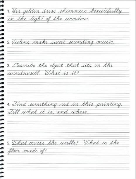 Cursive Sentences Worksheets Printable 4th Grade Cursive Handwriting Worksheets