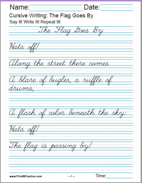 Cursive Sentences Worksheets Printable 50 Cursive Writing Worksheets ⭐ Alphabet Sentences Advanced