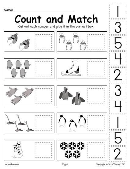 Cut and Paste Worksheets Kindergarten Pin On Worksheets Activities & Lesson Plans for Kids