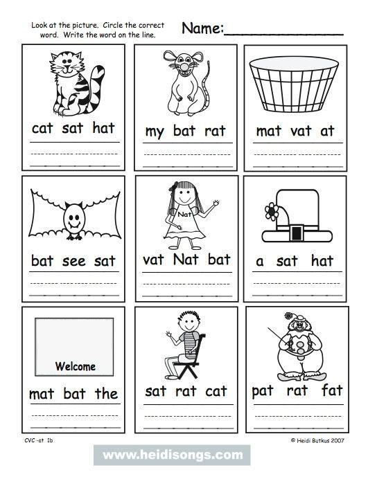 Cvc Worksheet Kindergarten How to Teach Kids to sound Out Three Letter Words Cvc Words