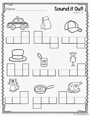 Cvc Worksheets Kindergarten Free Super Cvc Practice Miss Kindergarten