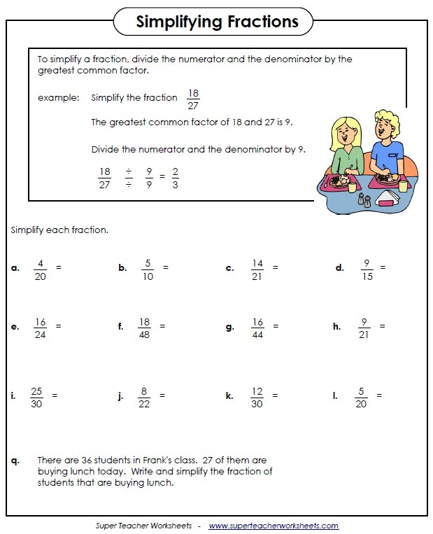 Decomposing Fractions Worksheets 4th Grade Fraction Worksheets for 4th Grade & Improper Fractions