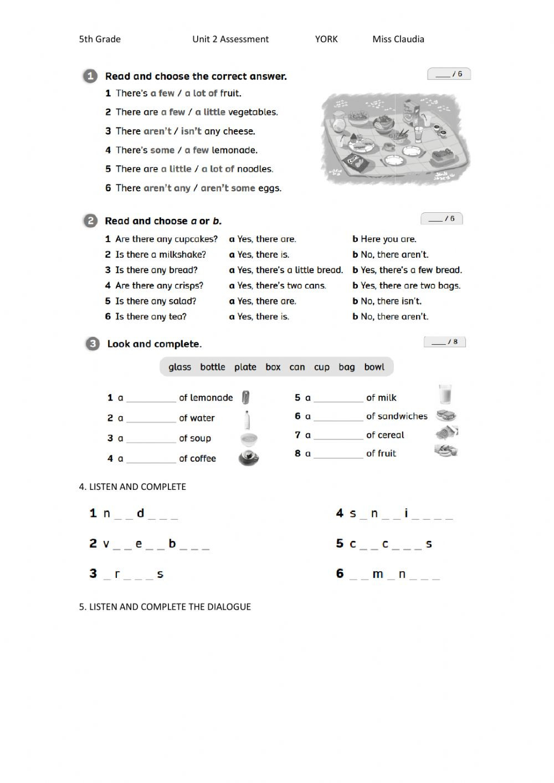 Dialogue Worksheet 5th Grade Unit 2 assessment Team together 3 Interactive Worksheet