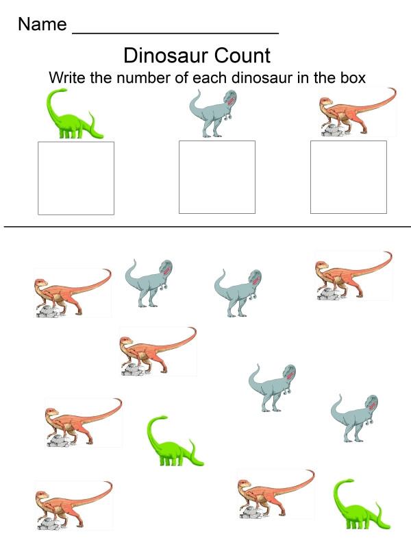 Dinosaur Worksheets for Kindergarten Dinosaur Activities for Kids