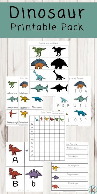 Dinosaur Worksheets for Kindergarten Free Dinosaur Printables