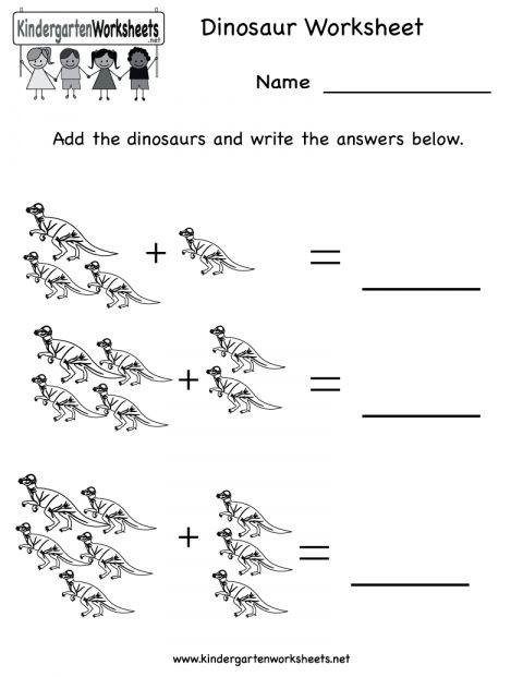 Dinosaur Worksheets Kindergarten 9 Dinosaurs Worksheet Kindergarten Kindergarten