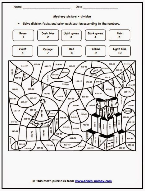 Division Coloring Worksheets 6th Grade Color Sheets Involving Dividing Saferbrowser
