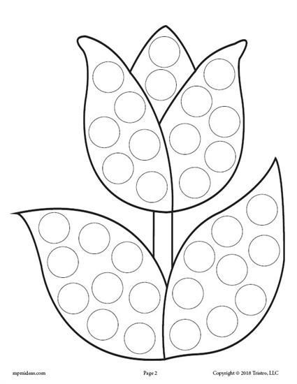 Dot to Dot Art Printables 12 Spring Do A Dot Printables