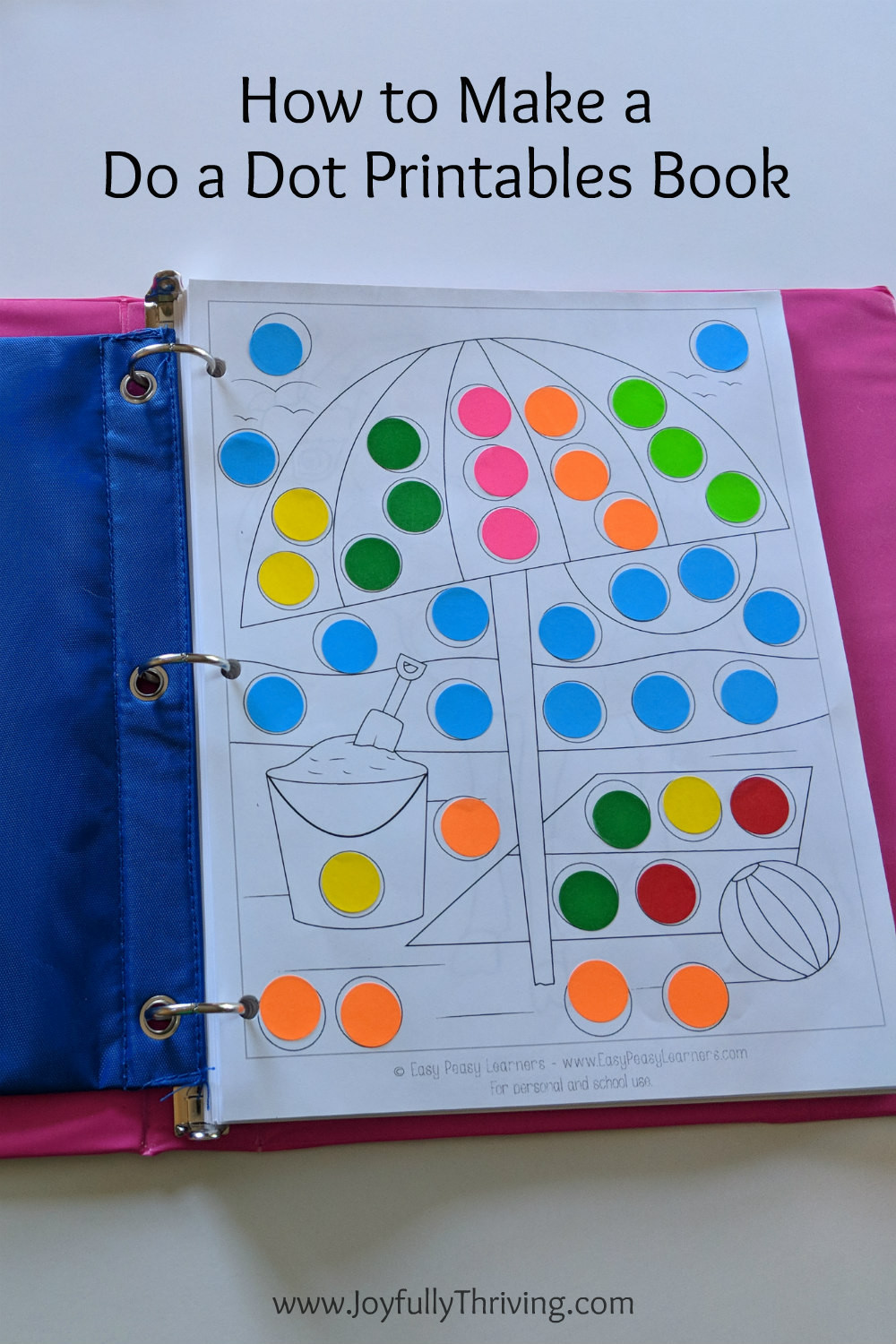 Dot to Dot Art Printables How to Make A Do A Dot Printables Book