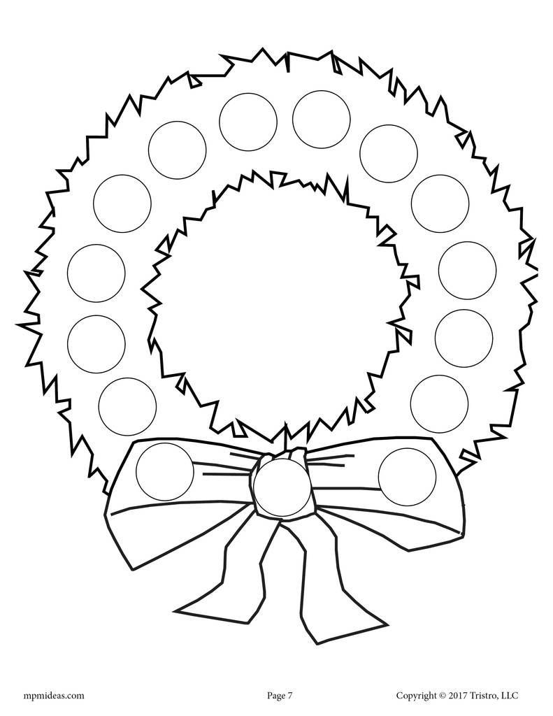 Dot to Dot Christmas Printables 10 Christmas Do A Dot Printables