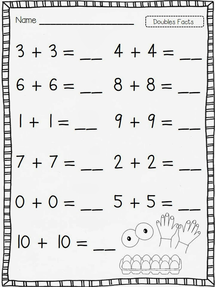 Doubles Rap Printable It S the Doubles Baby Lets Go Flying Into First Grade