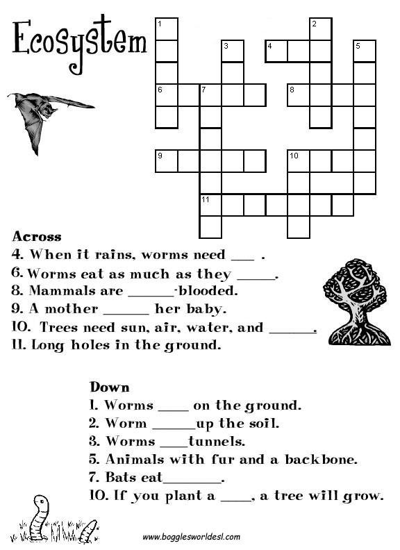 Ecosystem Worksheets 4th Grade 28 [ Ecosystem Worksheets ]