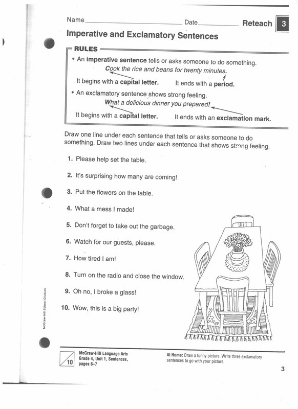 Editing Sentences 3rd Grade 6 1 Traits Series Conventions Sentence Fluency Grammar